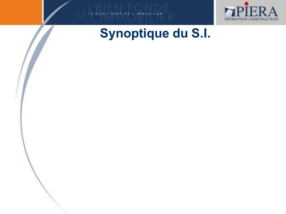 Synoptique du S.I.
