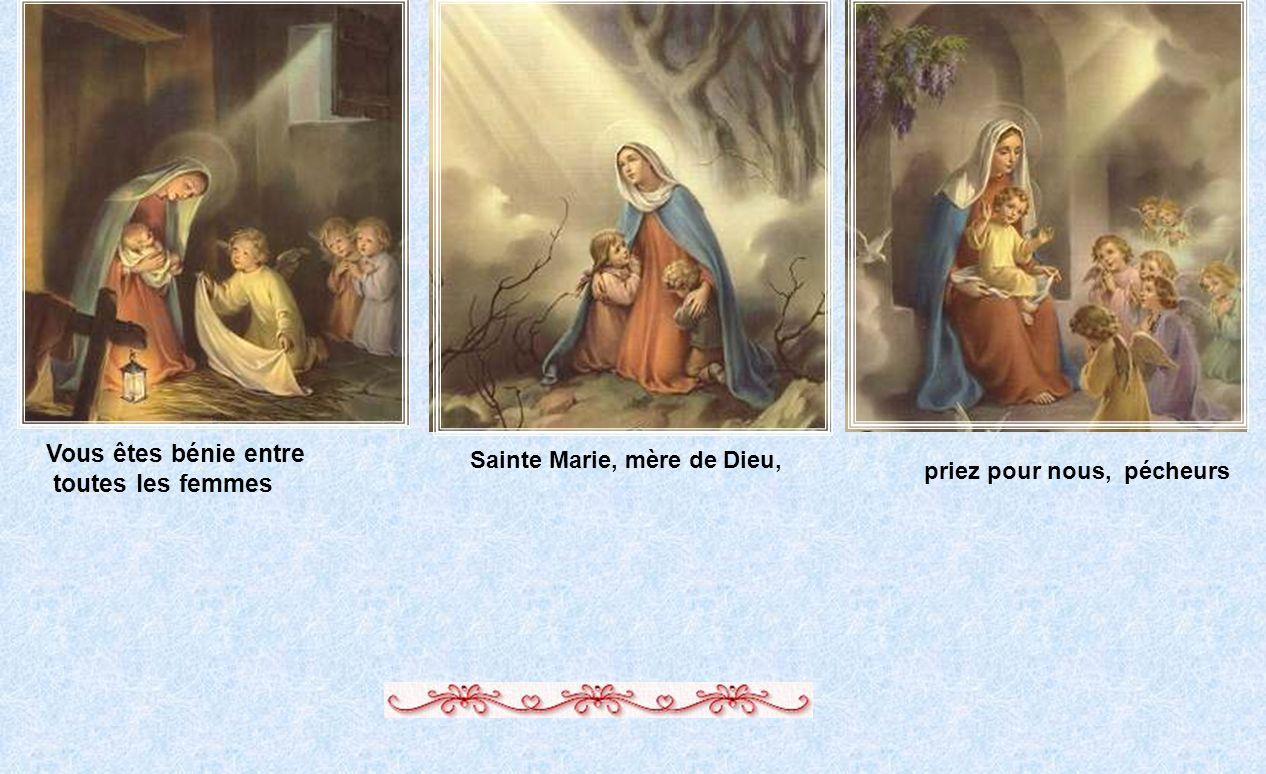 priez pour nous, pécheurs Sainte Marie, mère de Dieu,