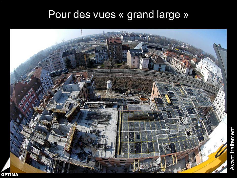 Pour des vues « grand large »