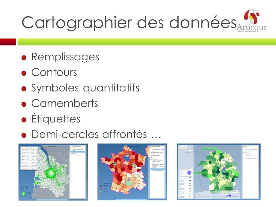Cartographier des données