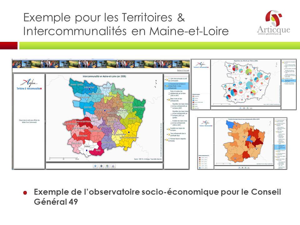 Exemple pour les Territoires & Intercommunalités en Maine-et-Loire
