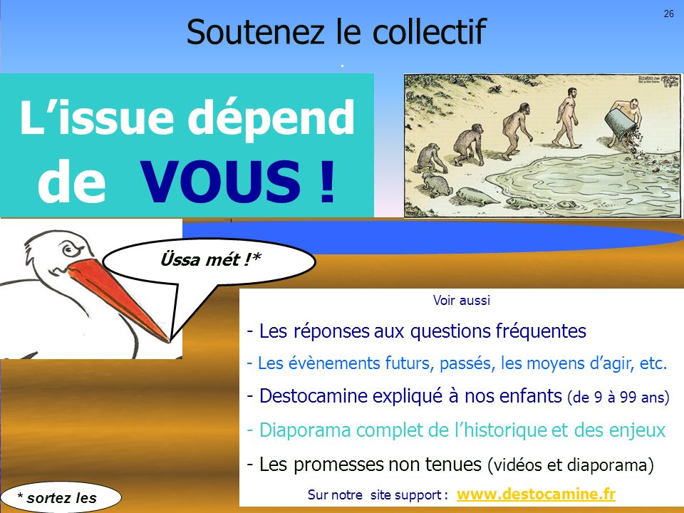 Sur notre site support : www.destocamine.fr