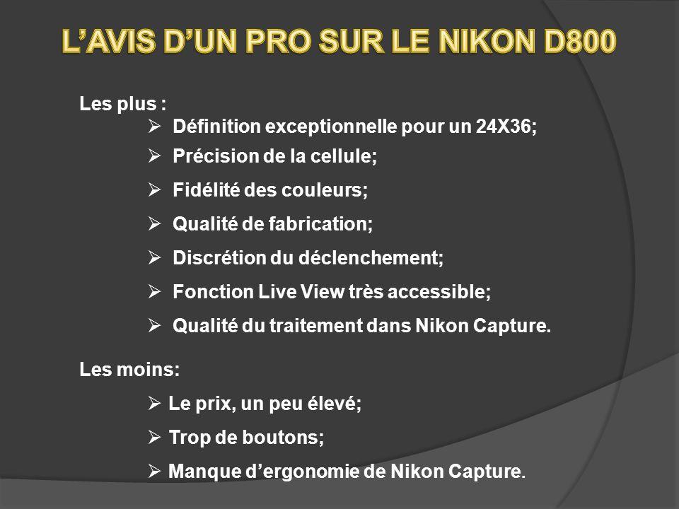 L'AVIS D'UN PRO SUR LE NIKON D800