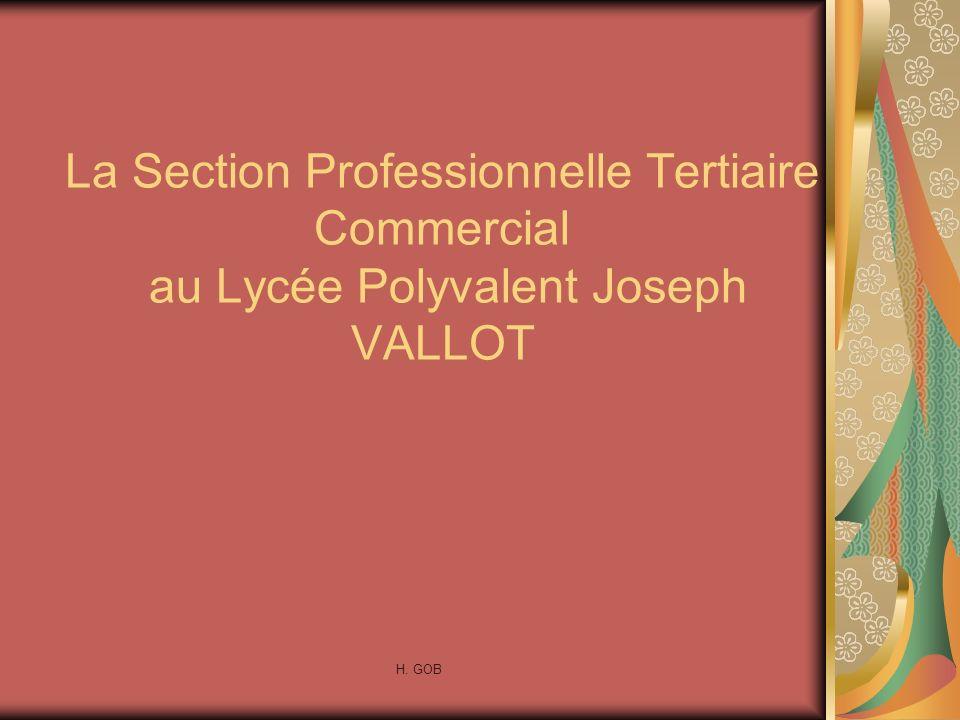Présentation du Bac Professionnel Tertiaire Commercial