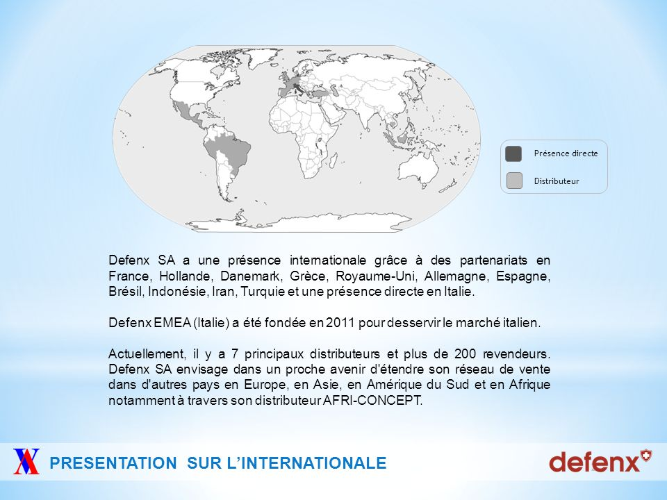 PRESENTATION SUR L'INTERNATIONALE