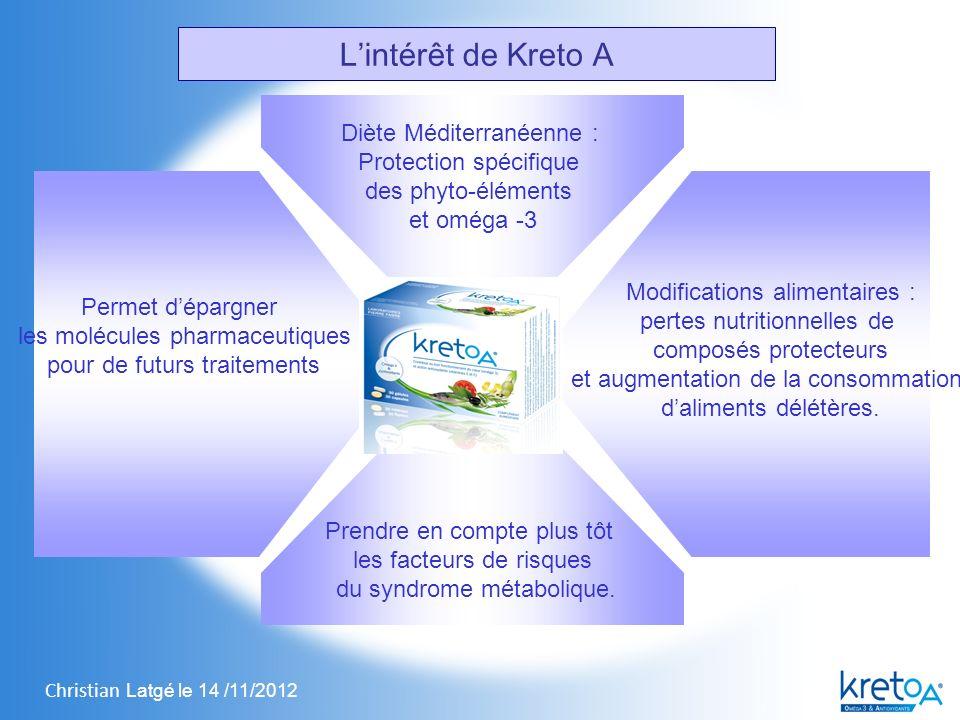 L'intérêt de Kreto A Diète Méditerranéenne : Protection spécifique
