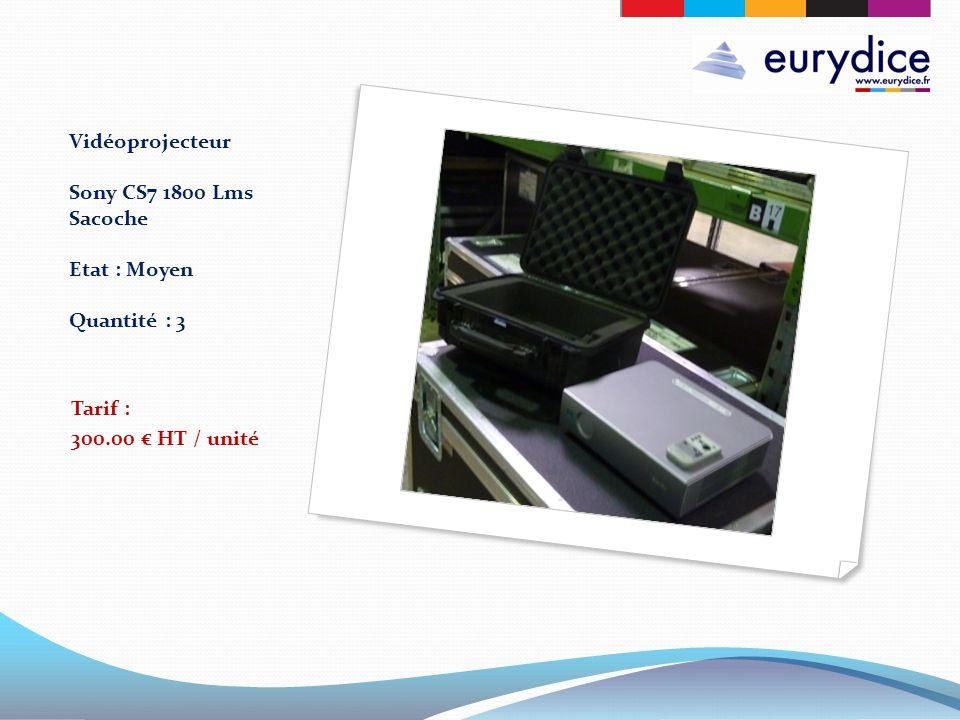 Vidéoprojecteur Sony CS7 1800 Lms Sacoche Etat : Moyen Quantité : 3