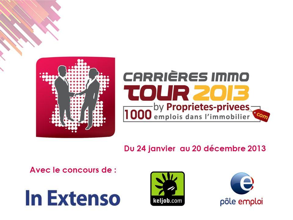 Du 24 janvier au 20 décembre 2013 Avec le concours de :