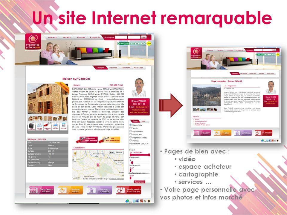 Un site Internet remarquable