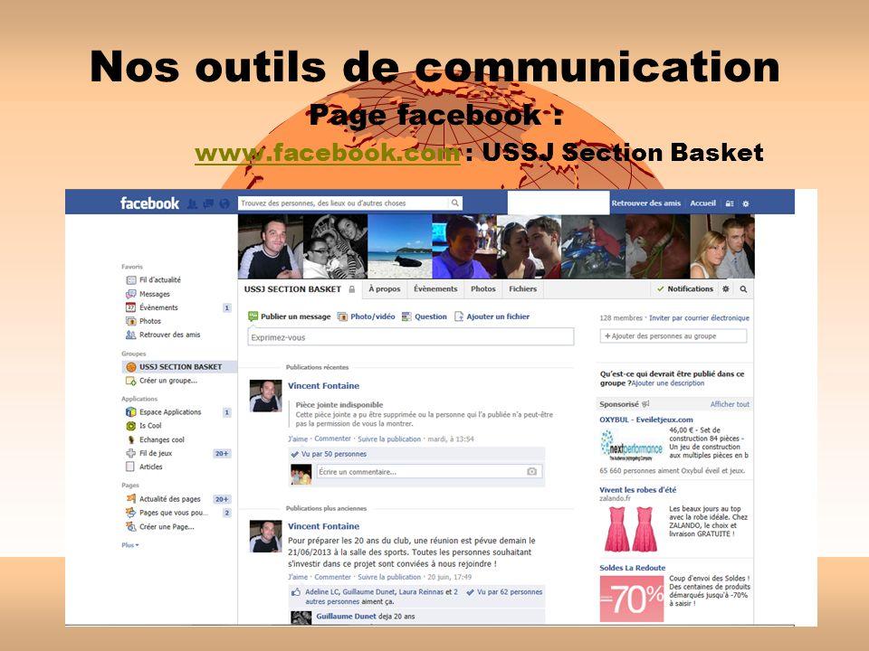 Nos outils de communication