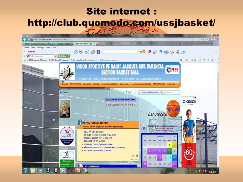 Site internet : http://club.quomodo.com/ussjbasket/