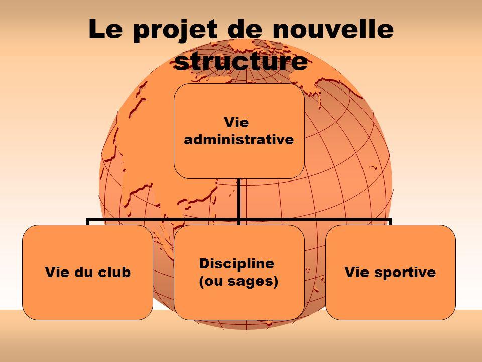 Le projet de nouvelle structure