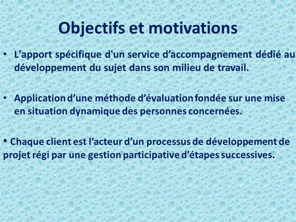 Objectifs et motivations