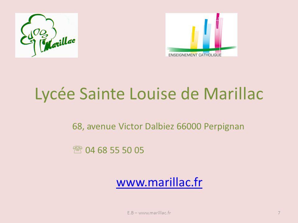 Lycée Sainte Louise de Marillac
