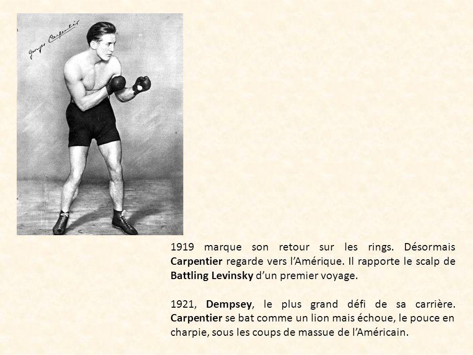 1919 marque son retour sur les rings