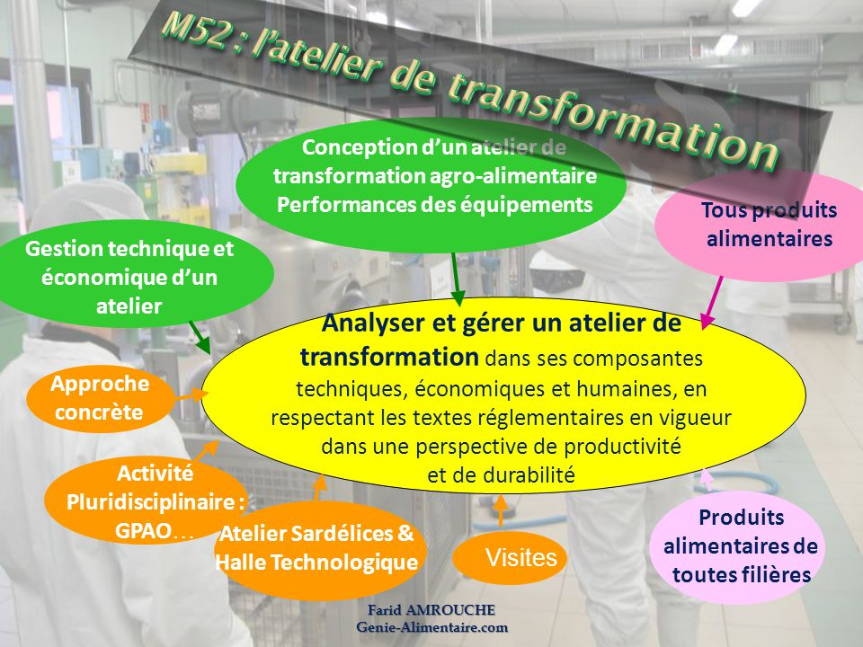 M52 : l'atelier de transformation
