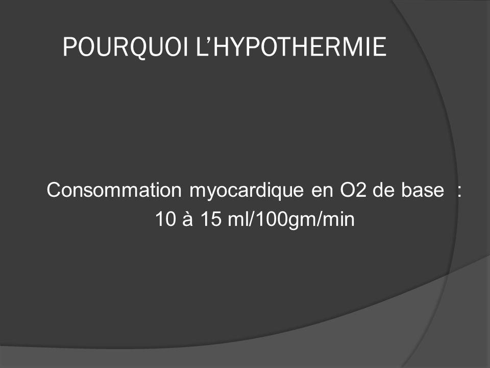 POURQUOI L'HYPOTHERMIE