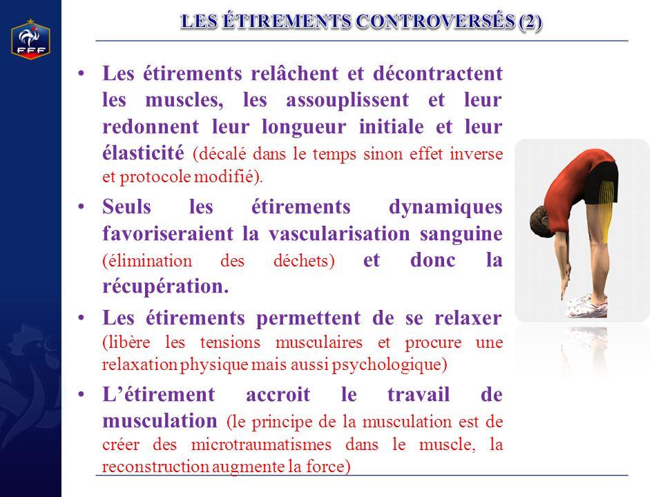 LES ÉTIREMENTS CONTROVERSÉS (2)