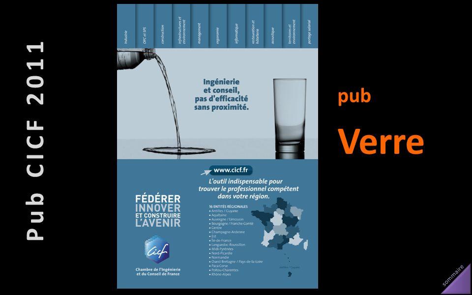 Pub CICF 2011 pub Verre
