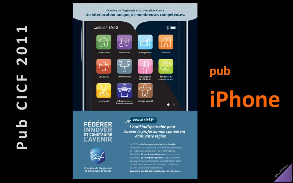 Pub CICF 2011 pub iPhone
