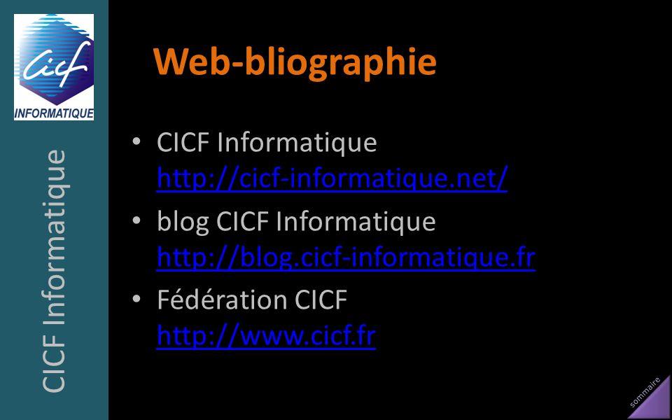 Web-bliographie CICF Informatique