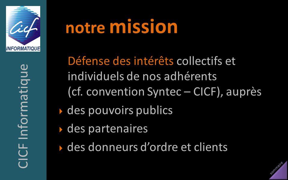 notre mission CICF Informatique