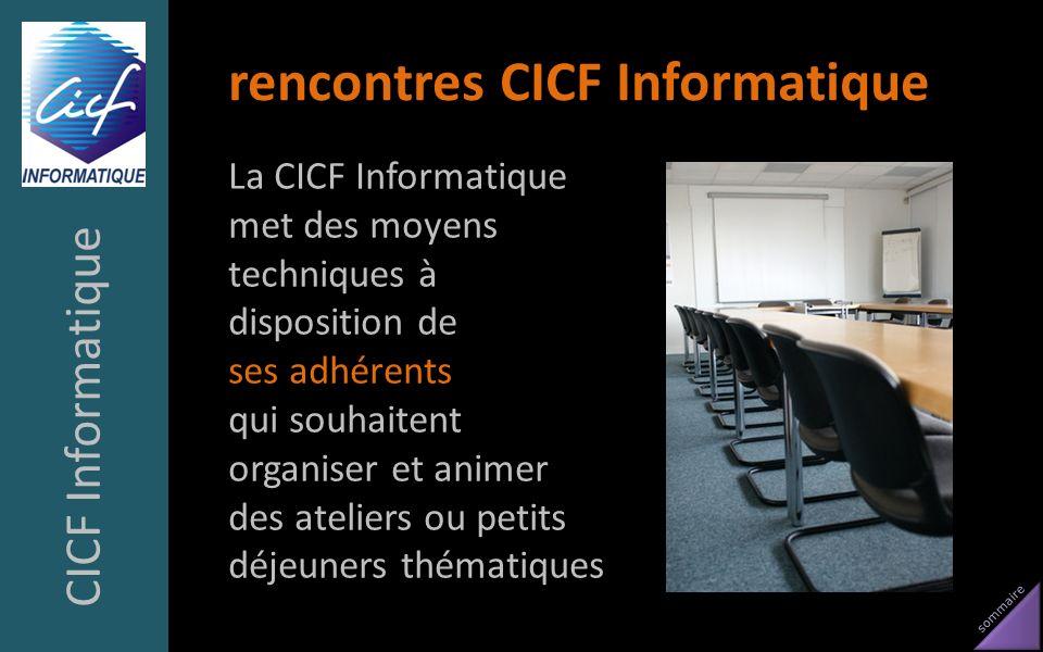 rencontres CICF Informatique