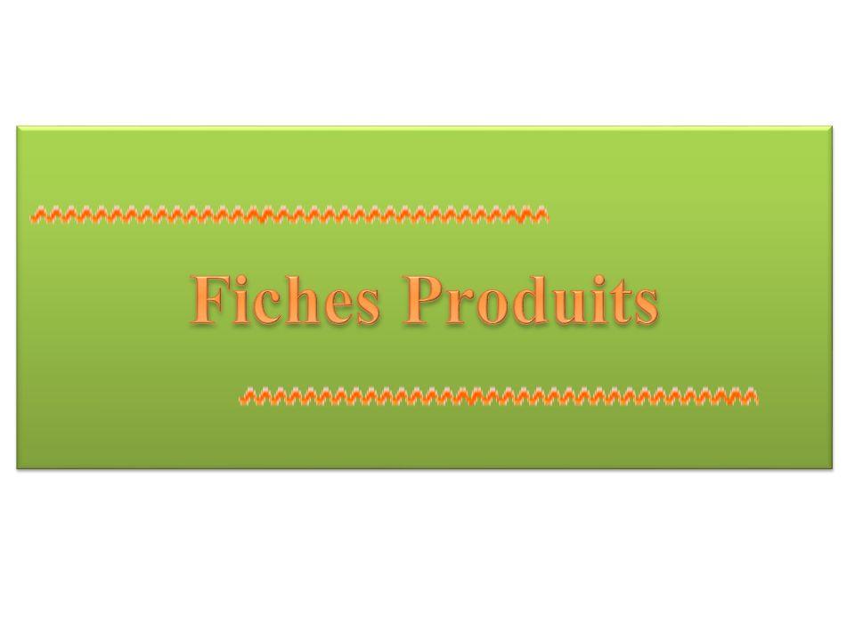 Fiches Produits