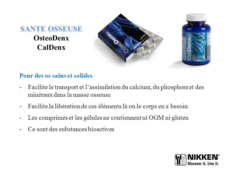 SANTE OSSEUSE OsteoDenx CalDenx