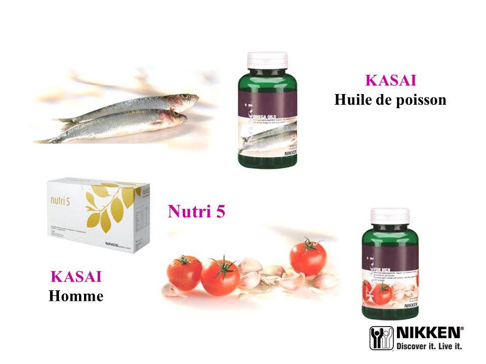 KASAI Huile de poisson Nutri 5 KASAI Homme