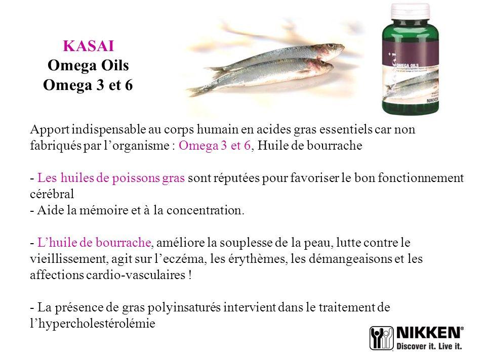 KASAI Omega Oils Omega 3 et 6