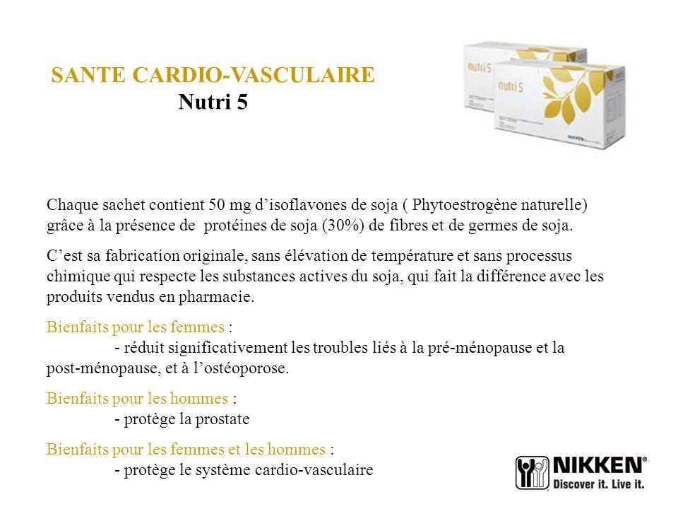 SANTE CARDIO-VASCULAIRE Nutri 5
