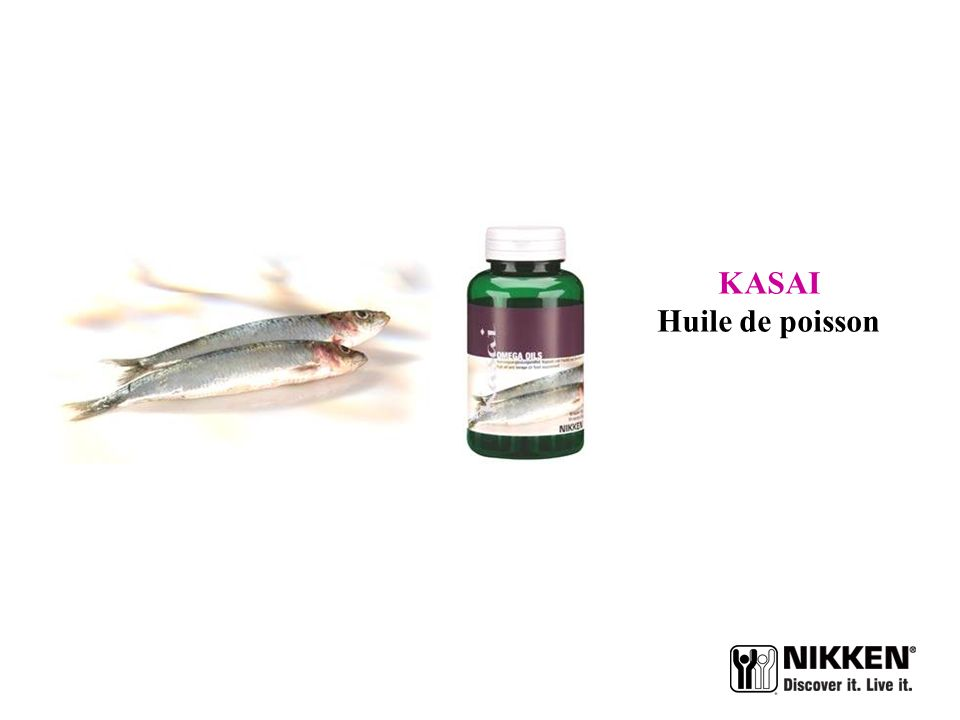 KASAI Huile de poisson