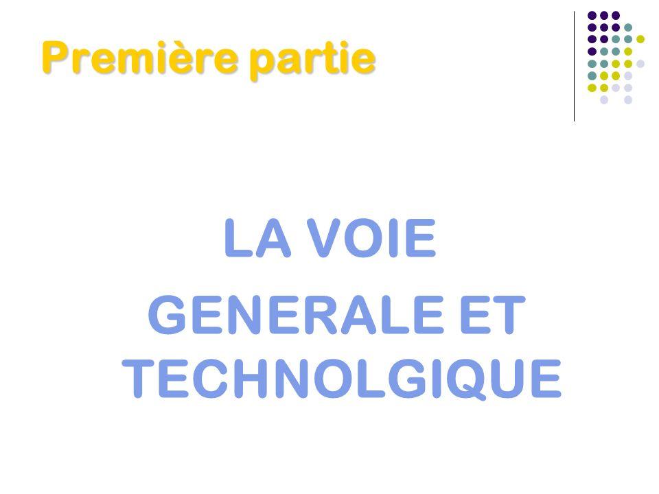 GENERALE ET TECHNOLGIQUE