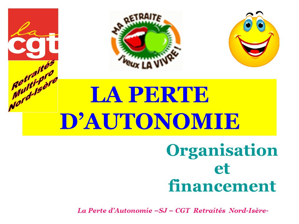 Organisation et financement