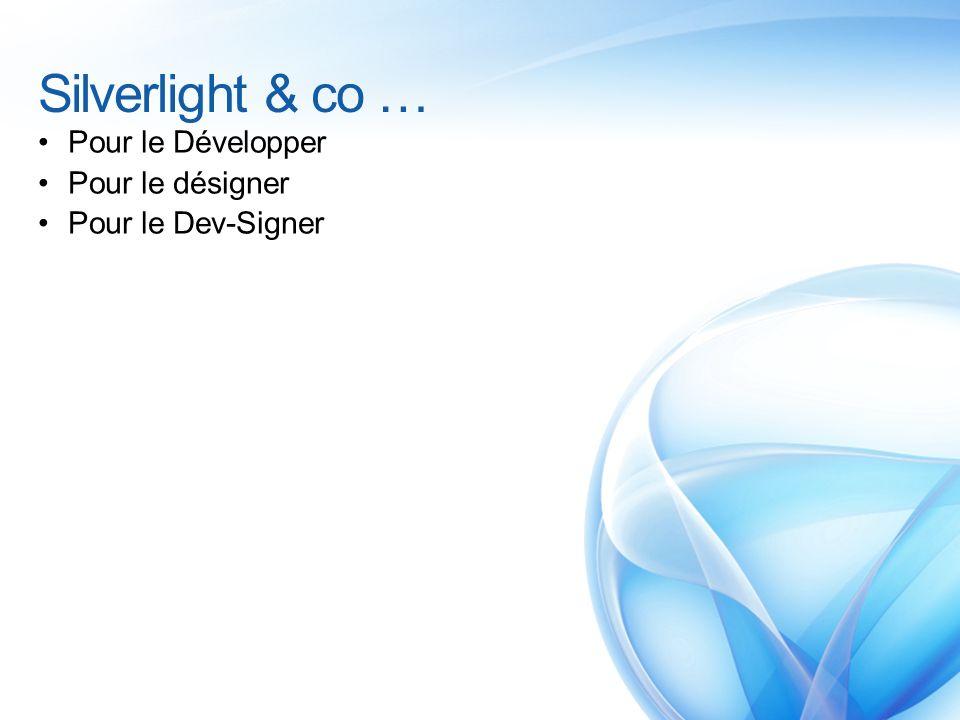 Silverlight & co … Pour le Développer Pour le désigner