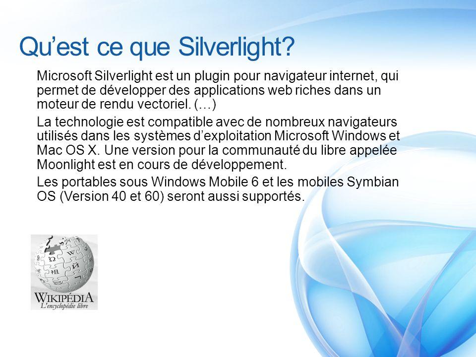 Qu'est ce que Silverlight