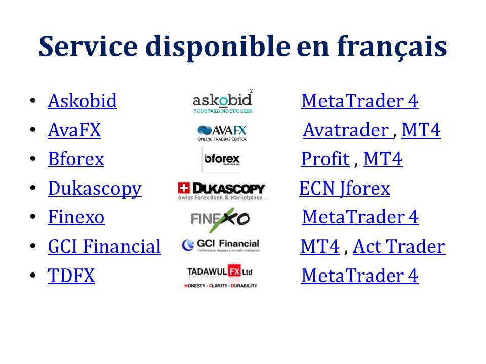 Service disponible en français