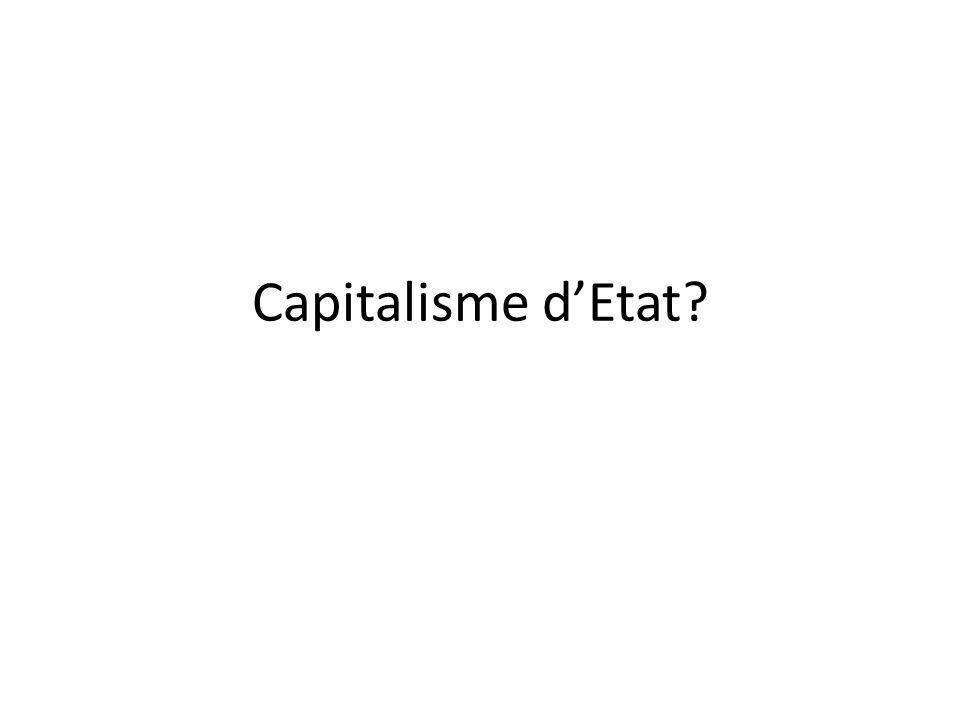 Capitalisme d'Etat