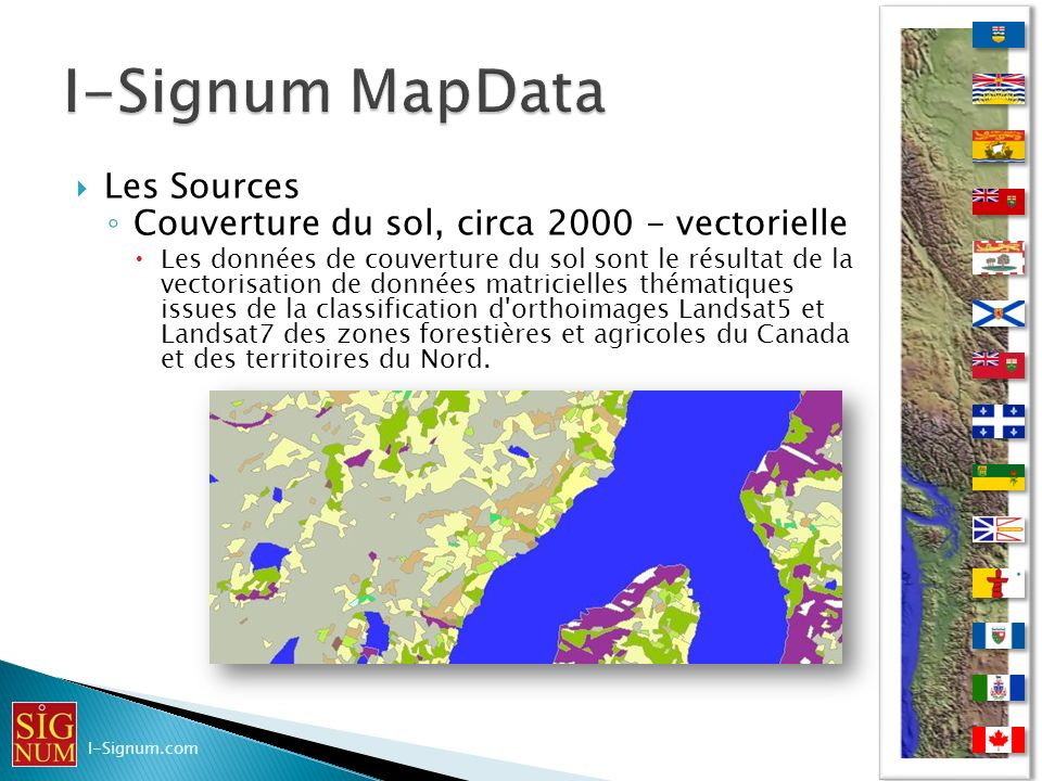 I-Signum MapData Les Sources