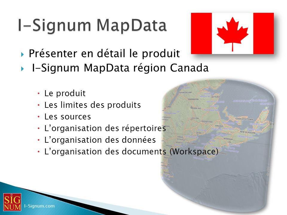 I-Signum MapData Présenter en détail le produit