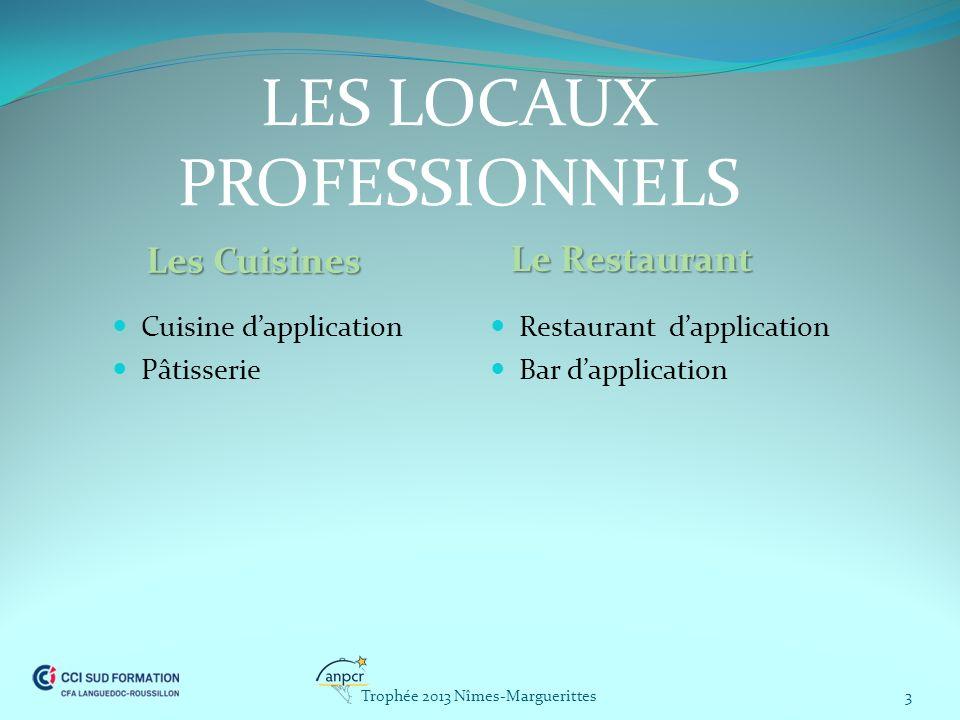LES LOCAUX PROFESSIONNELS