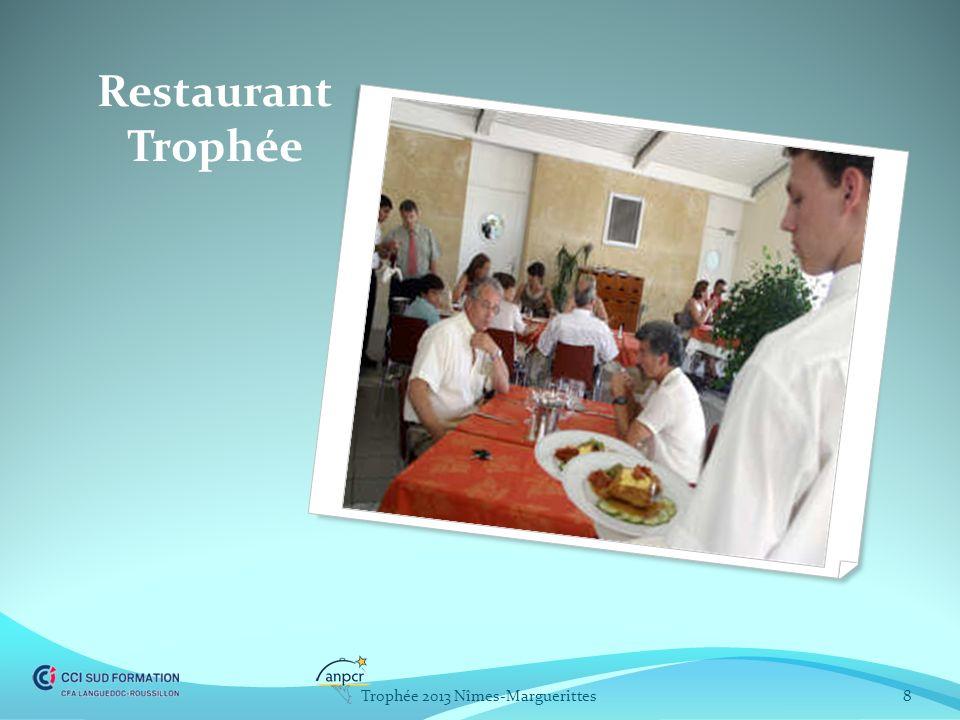 Restaurant Trophée Trophée 2013 Nîmes-Marguerittes