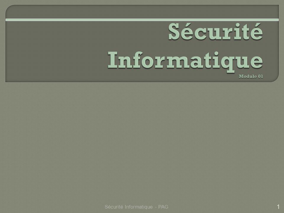 Sécurité Informatique Module 01