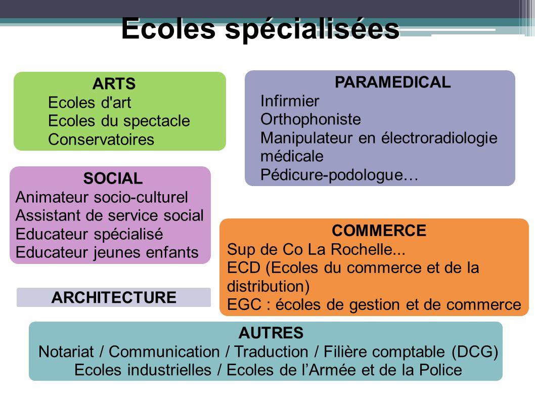 Ecoles spécialisées PARAMEDICAL ARTS Infirmier Ecoles d art