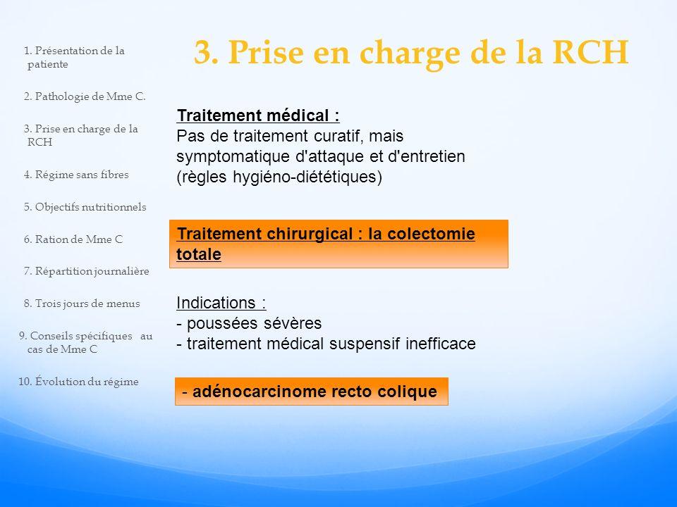 3. Prise en charge de la RCH