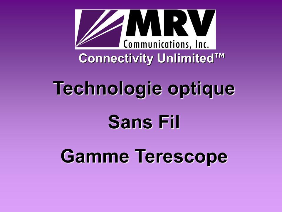 Technologie optique Sans Fil Gamme Terescope