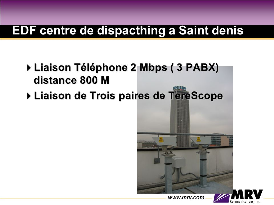 EDF centre de dispacthing a Saint denis