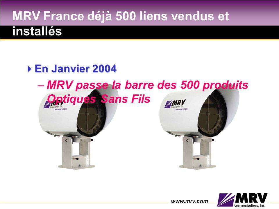 MRV France déjà 500 liens vendus et installés