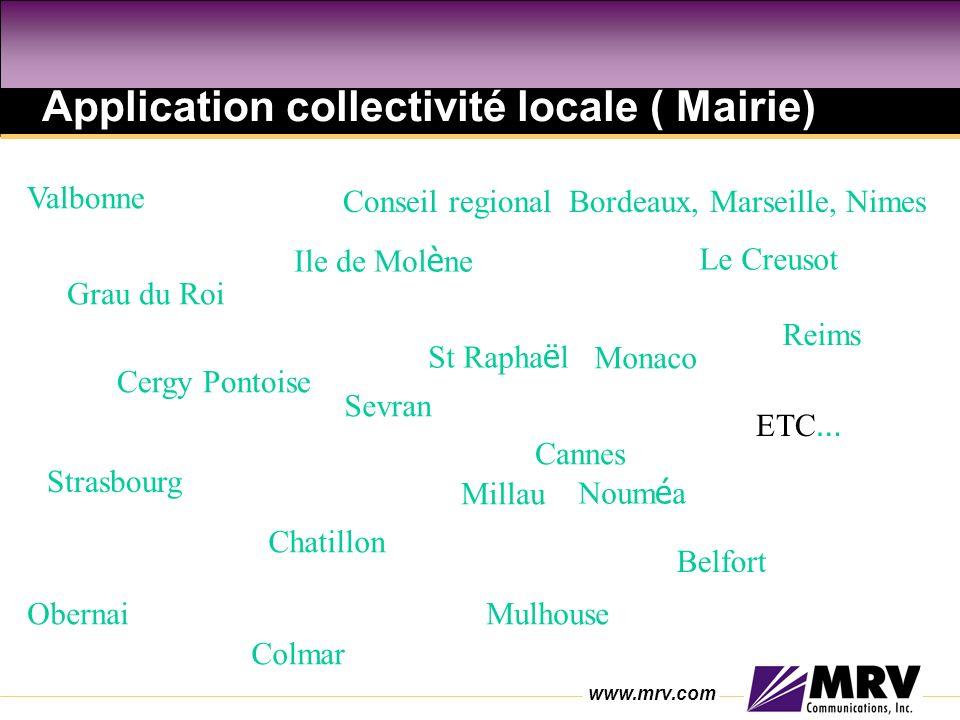 Application collectivité locale ( Mairie)
